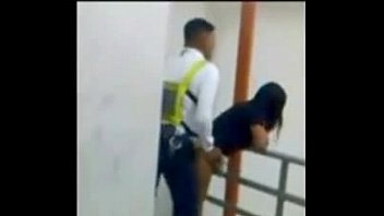 splooged mall security caught smashing