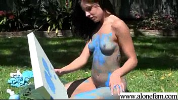 teenie glorious monstrous-chested inexperienced woman have fun with.