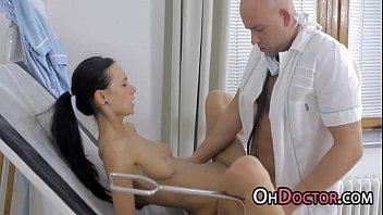 polyclinic nurse pounding tempting sweetie