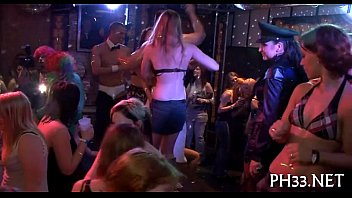 kinky pound allover the night club