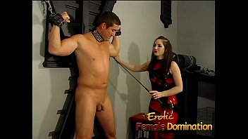 ultra-kinky domina whore ties a fellow down and.