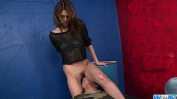 Sexy porn scenes along curvy ass Riina Fujimoto