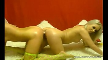 Russian girls Lera and Nastya have sex on webcam - www.intimcams.online