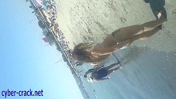 turkish beach  youthful lady spycam.
