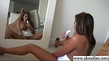 luxurious woman wanking with all kind of playthings video-05