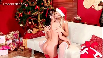 all girl duo gifting each other with oral.