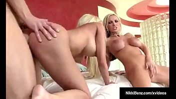 meaty-chested blond hotties nikki benz amp_ puma swede.