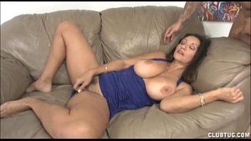 big-chested cougar hand-job and cunt fondling