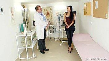 Latina Victoria Rose gyno exam with speculum