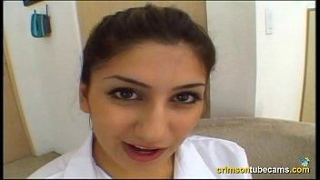 nice nineteen year older college girl deep-throating and.