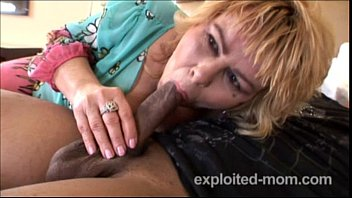 skanky mother does dark-hued boy in mature shag vid