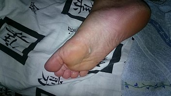 my wife039_s feet are moving after ejaculation while.