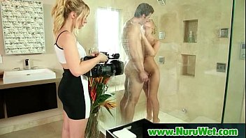 nurumassage sonnie totally serviced by step-mommy.
