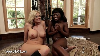 1-immensely crimson-hot lesbo pornographic starlets inserting joy things.
