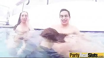 Sex Action In Group With Slut Party Girls (carli &amp_ kylie &amp_ zoey) mov-11