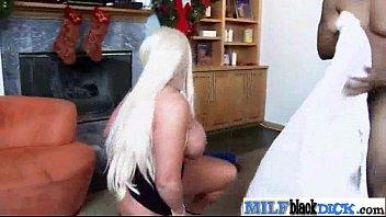 Sex Tape Enjoying Big Black Monster Cock With Mature Lady (alura jensen) video-03