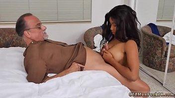 Old man young nurse Glenn finishes the job!