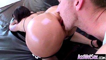 Deep Anal Sex Treat With Slut Big Butt Oiled Girl (dollie darko) clip-14
