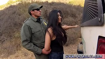 Interracial cop and french threesome Busty Latin floozie Alejandra