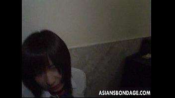 timid japanese teenager has a sadism & sm.