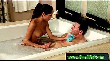 nuru rubdown with splendid japanese masseuse lovemaking movie.
