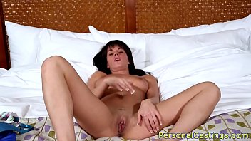Real babe banged at casting in POV style