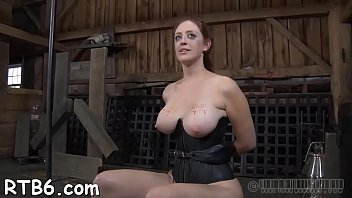 ball-gagged sweetheart luvs anguished torment for her fantastic figure