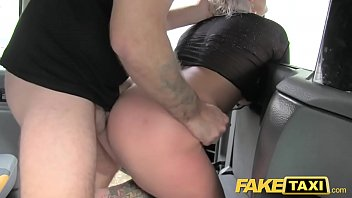 faux cab blond cougar gets surprise buttfuck lovemaking.