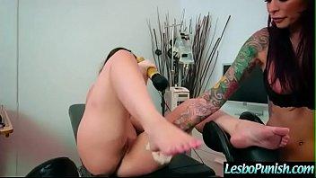 (Monique Alexander &amp_ Nekane Sweet) Lesbian Girls In Punish Hard Sex Scene clip-27