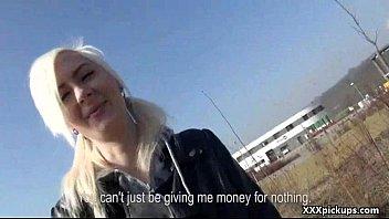 public pickups - luxurious unexperienced euro lady poked.