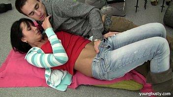 teenager susan gets nailed and spunked