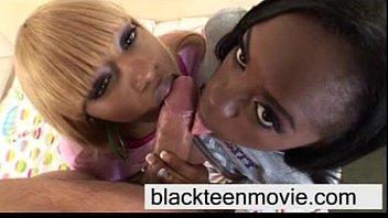 black teenager 3some shag