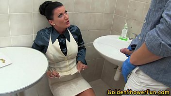 urinate drinking ho spunked