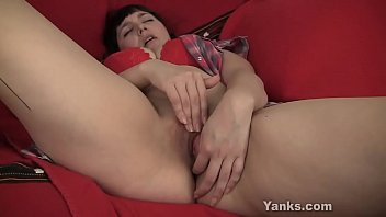 monstrous-titted sandy finger-romping her quim more.