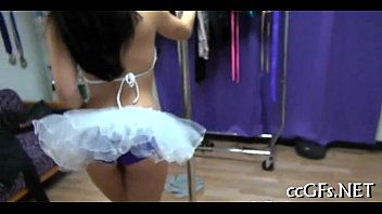 damsels get nude for girly-girl gusto