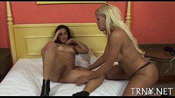 Teen tranny gets impure &amp_ creamy