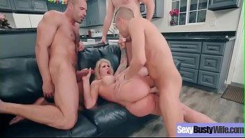 Naughty Sexy Wife (Ryan Conner) With Big Juggs Enjoy Hard Sex vid-22