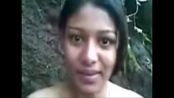 gorgeous indian dame working as partime callgirl in forest