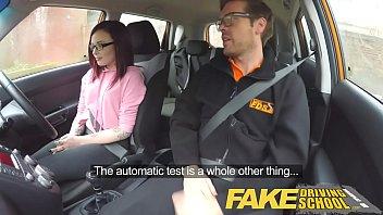 faux driving school yankee teenage creampied by brit schoolteacher