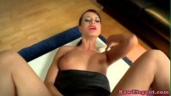 captivating euro escort cummed on donk by ample.