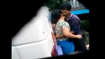 desi chick and boy intercourse in bus terminal.