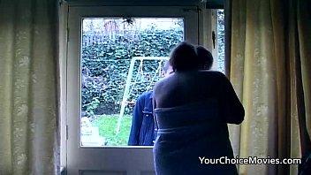 Chubby big boobed homemade mature housewife