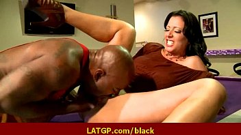 Interracial hard sex Horny MILF beauty gets hard big black cock 39