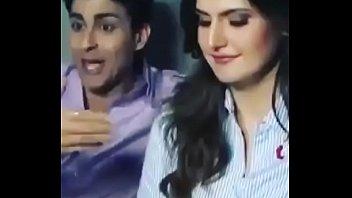 bollywood actress zareen khan warm flick and hindi audio