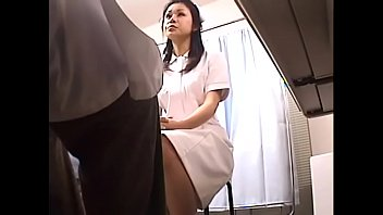 japanese spycam footage of clumsy nurses making up.