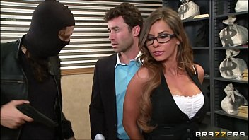 madison ivy - roped up and spanked at.