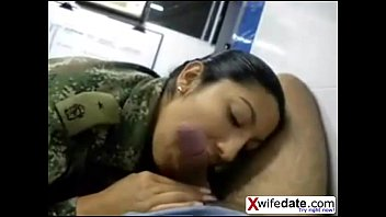 japanese kinky girl soldier gargling and.