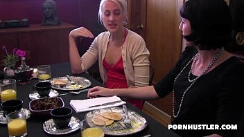 girly-girl touches a unshaved coochie under.