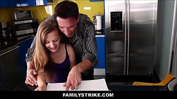 creepy daddy plows nubile step stepdaughter.