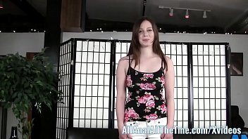 All Natural Busty Teen Natalie Gets Ass Spread and Licked!